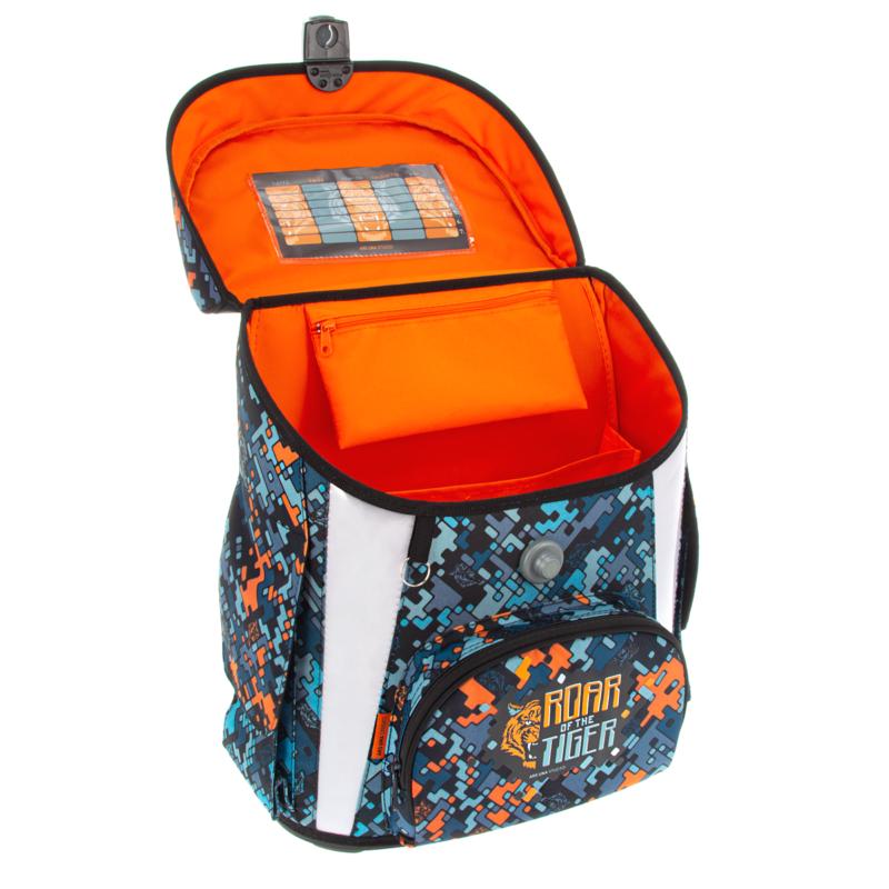 Ars Una Roar of the Tiger kompakt easy mágneszáras iskolatáska