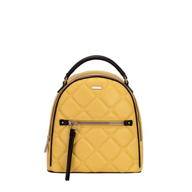 David Jones női divat hátizsák, sárga