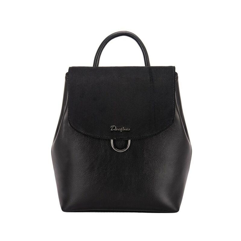 David Jones női divat hátizsák, fekete