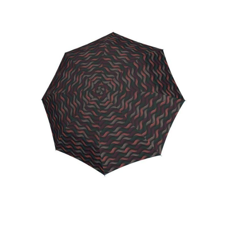 DOPPLER Fiber Magic Gravity automata női esernyő, fekete alapon mintás