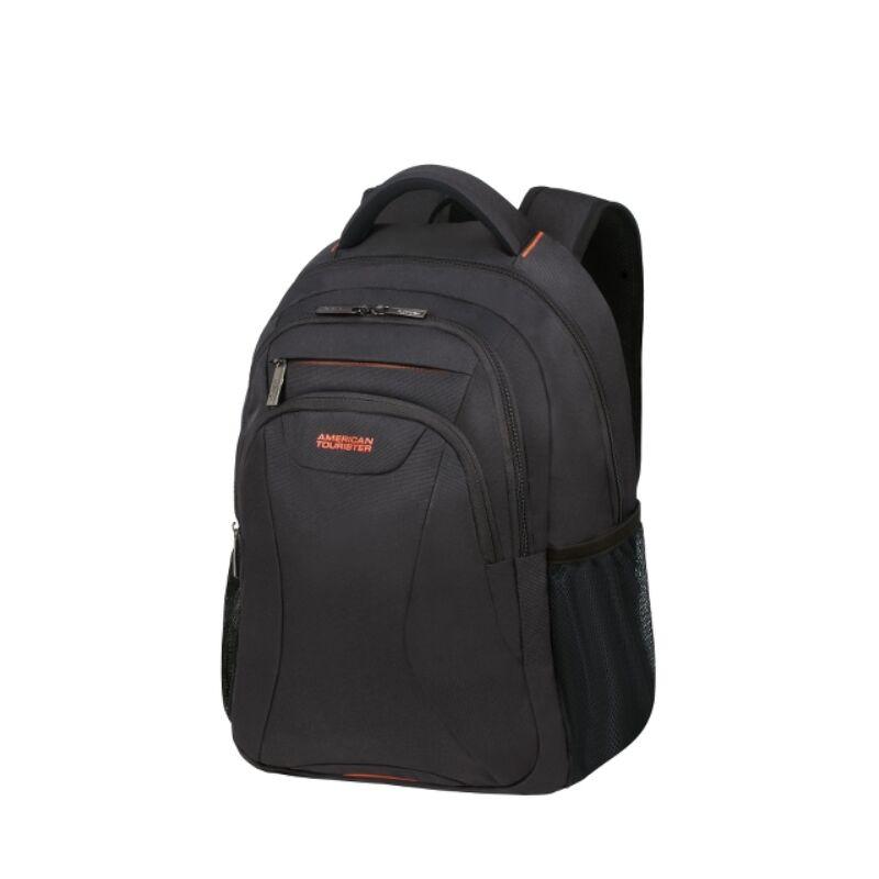 "American Tourister AT WORK laptop hátitáska 15,6"", fekete-narancs"