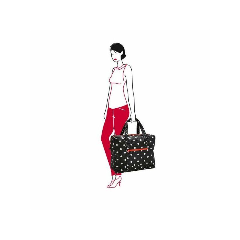 Reisenthel mini maxi tourinbag, fekete-fehér pötty