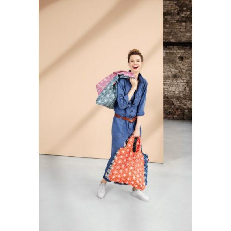 Reisenthel mini maxi shopper, geometric narancs