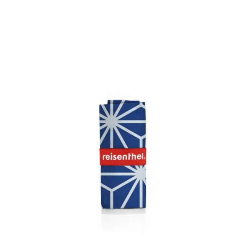 Reisenthel mini maxi shopper, geometric kék