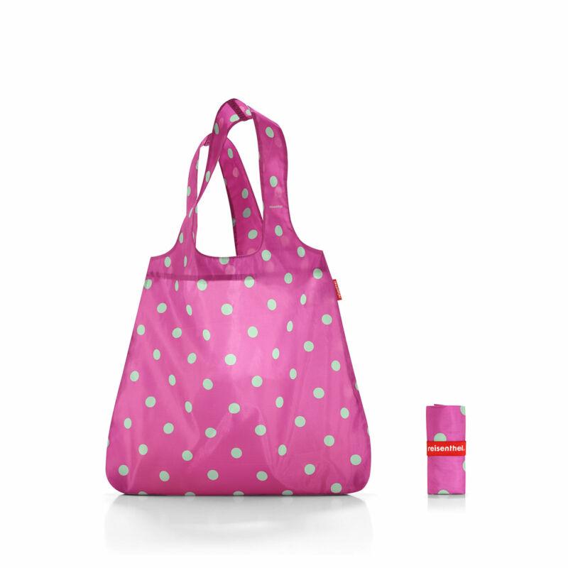 Reisenthel mini maxi shopper, magenta dots