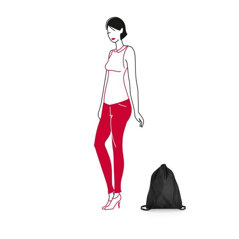 Reisenthel mini maxi sacpack hátizsák, fekete