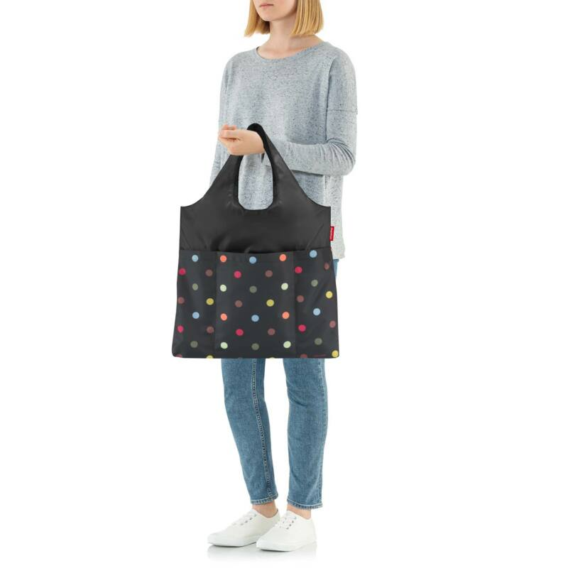 Reisenthel mini maxi shopper plus, színes pötty