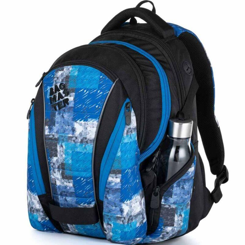 Bagmaster tinédzser háizsák BAG, kék-fekete
