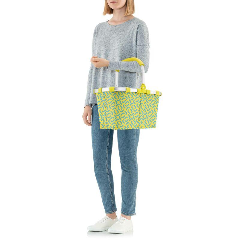Reisenthel Carrybag kosár, signature lemon