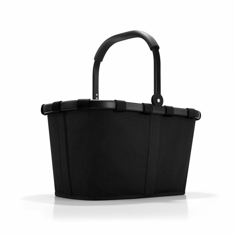 Reisenthel Carrybag kosár, fekete / fekete váz