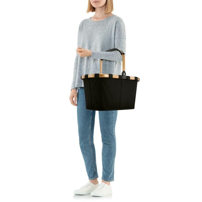 Reisenthel Carrybag kosár, fekete / arany váz