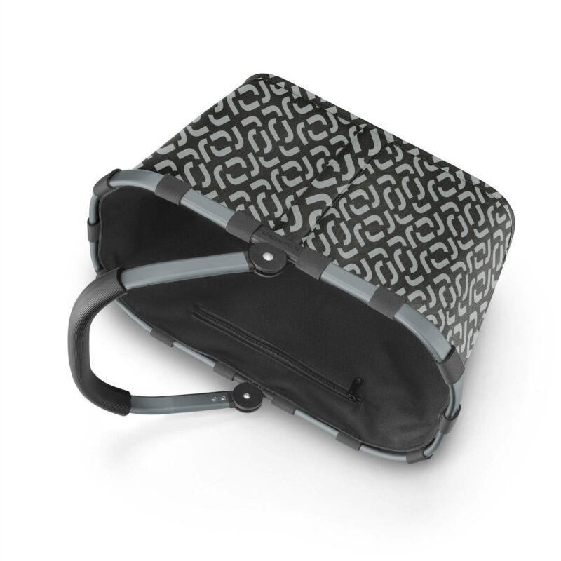 Reisenthel Carrybag frame kosár, signature black