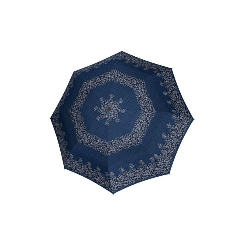 DOPPLER Fiber Classic félautomata női esernyő, kék