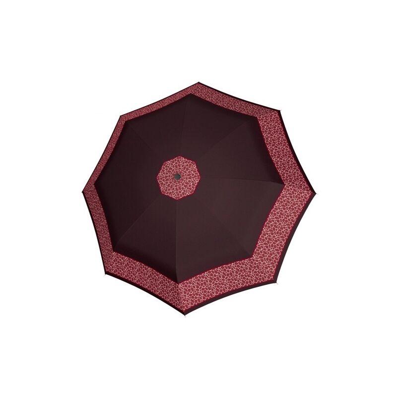 DOPPLER Fiber Classic félautomata női esernyő, bordó