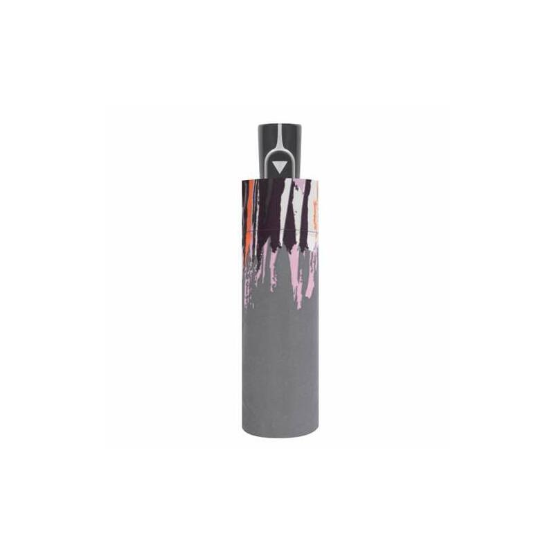 DOPPLER Fiber Style félautomata női esernyő, szürke