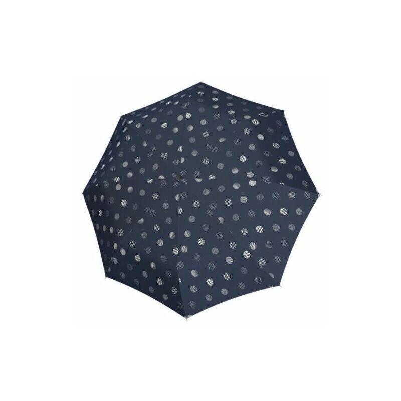 DOPPLER Fiber Timeless félautomata női esernyő, sötétkék