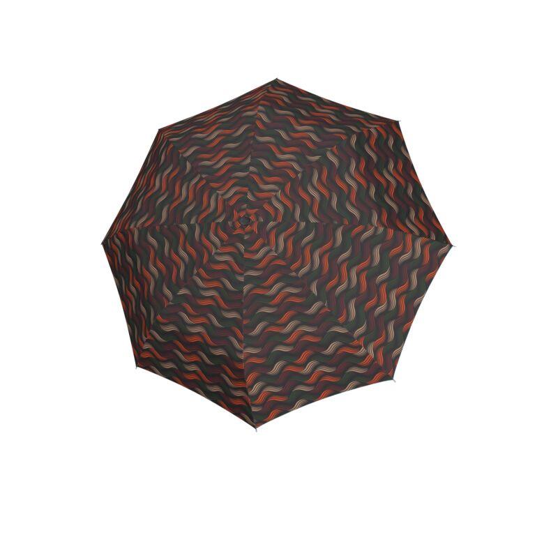 DOPPLER Fiber Magic Gravity automata női esernyő, barna alapon mintás