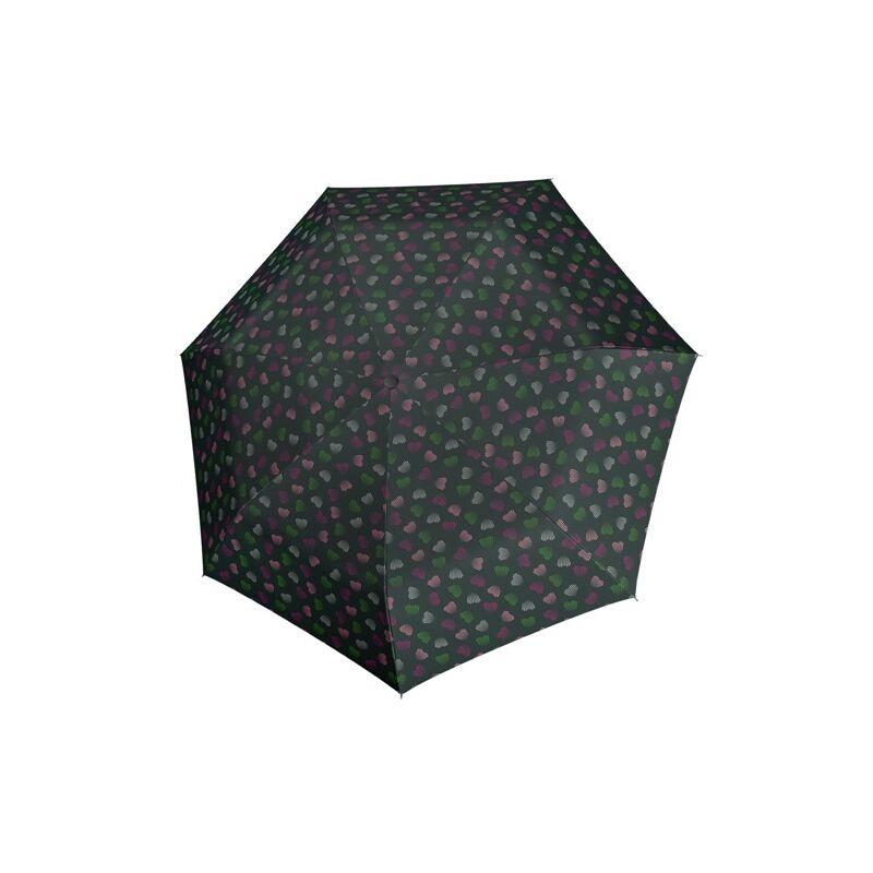 DERBY Hit Magic Emotion automata női esernyő, zöld alapon mintás