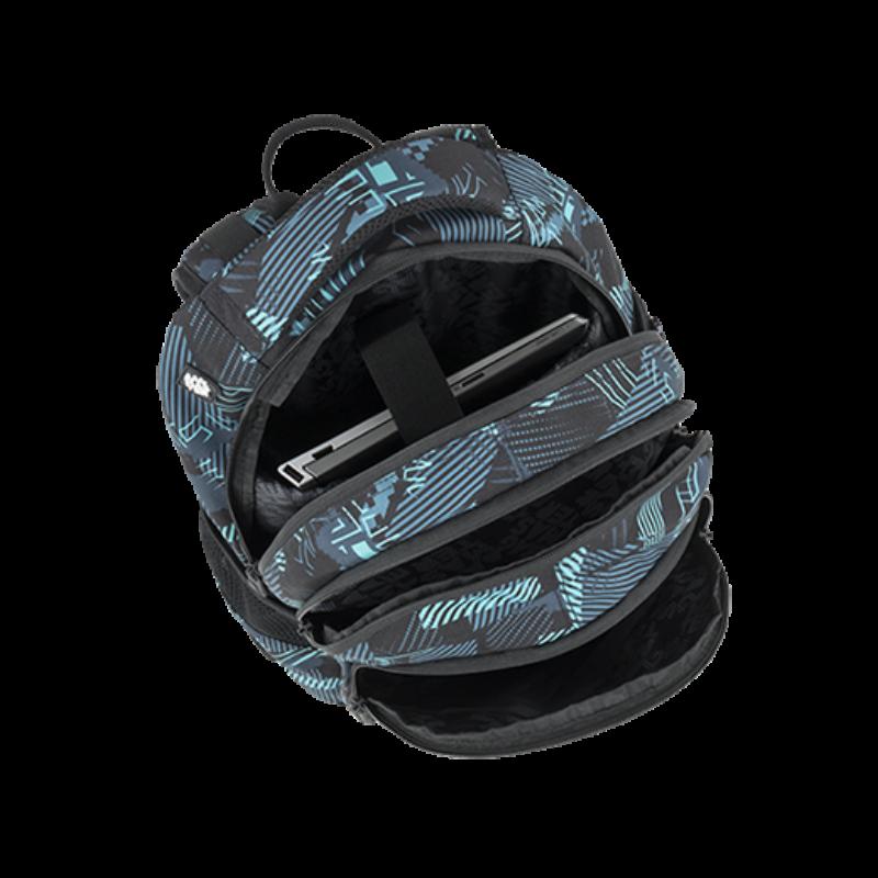 Bagmaster tinédzser háizsák DIGITAL, petrol-kék-fekete