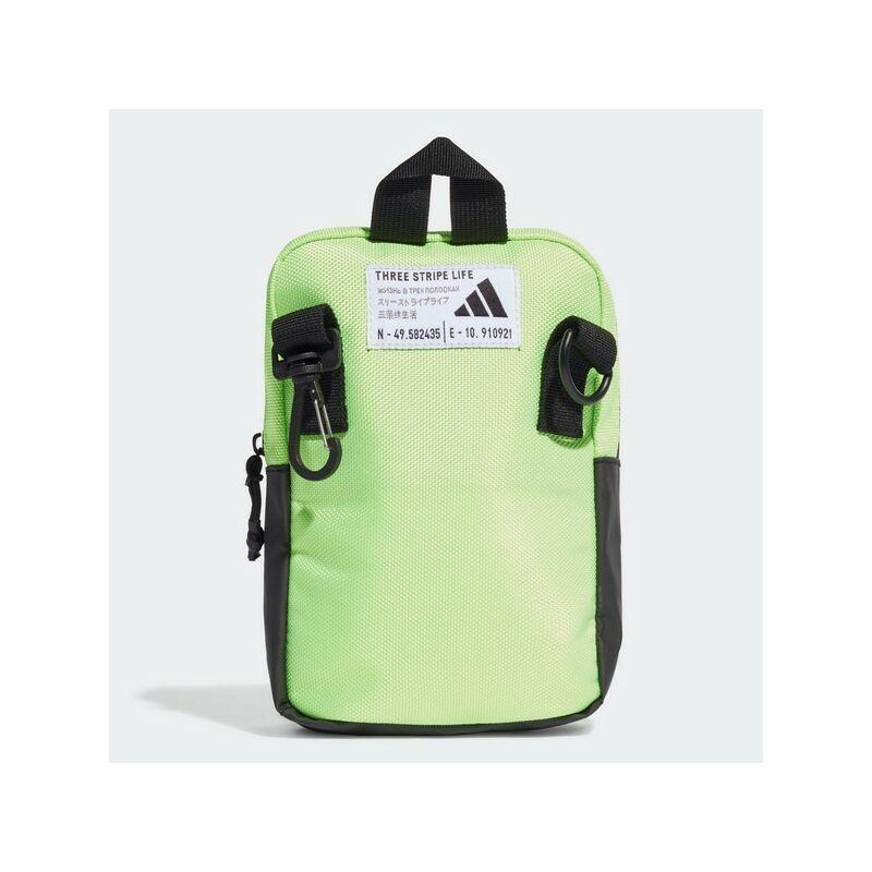 Adidas kis oldaltáska, PARKHOOD ORG, UV zöld