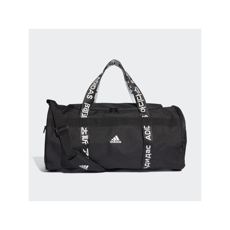 Adidas sporttáska 4A THLTS DUF M, fekete-fehér
