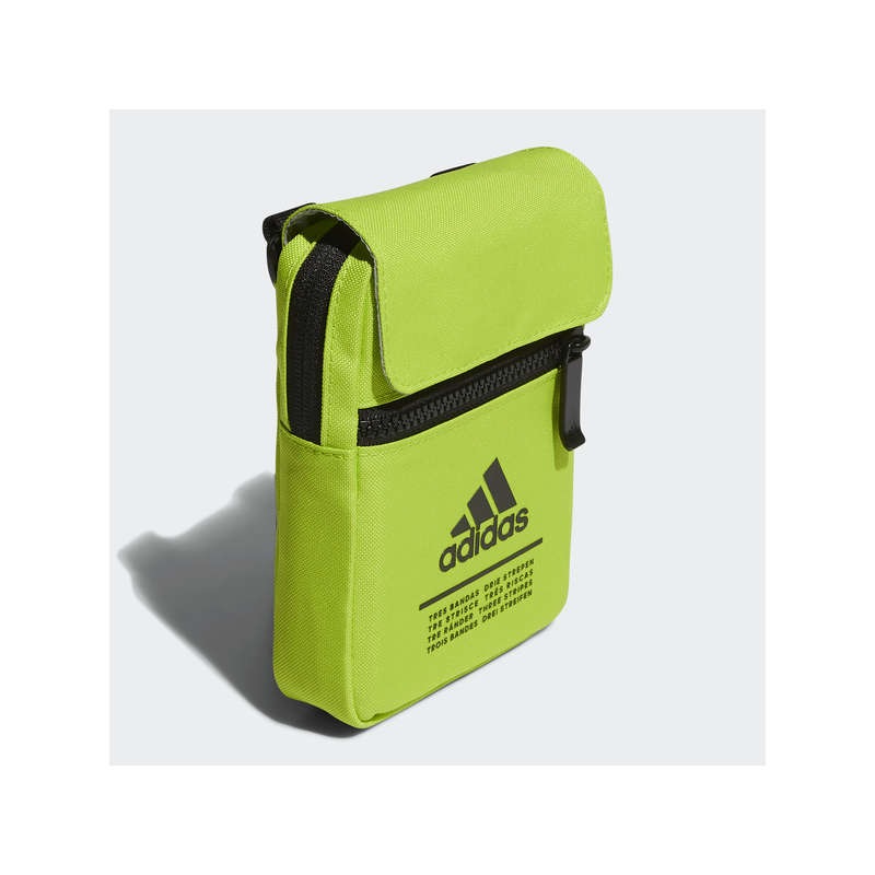 Adidas CL ORG S kis oldaltáska, UV zöld