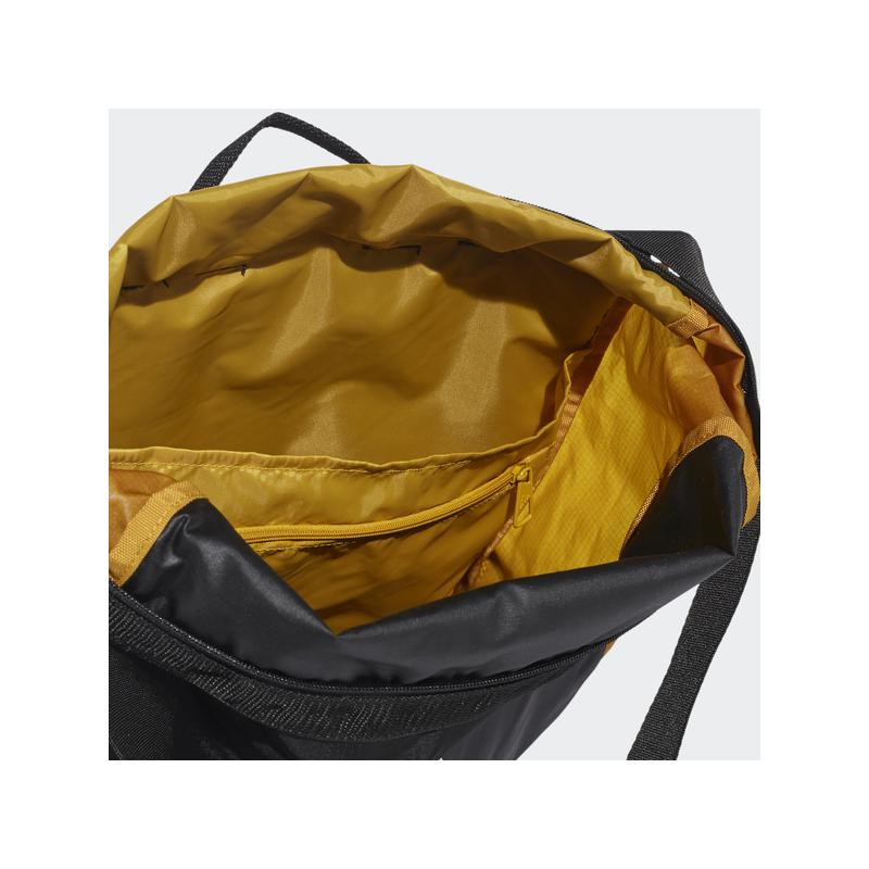 Adidas hátizsák CLASSIC BP FLAP, fekete-mustár