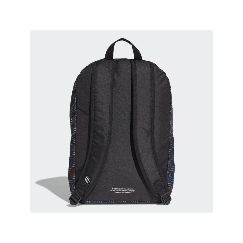 Adidas hátizsák, MONOGRAM BP, fekete alapon mintás