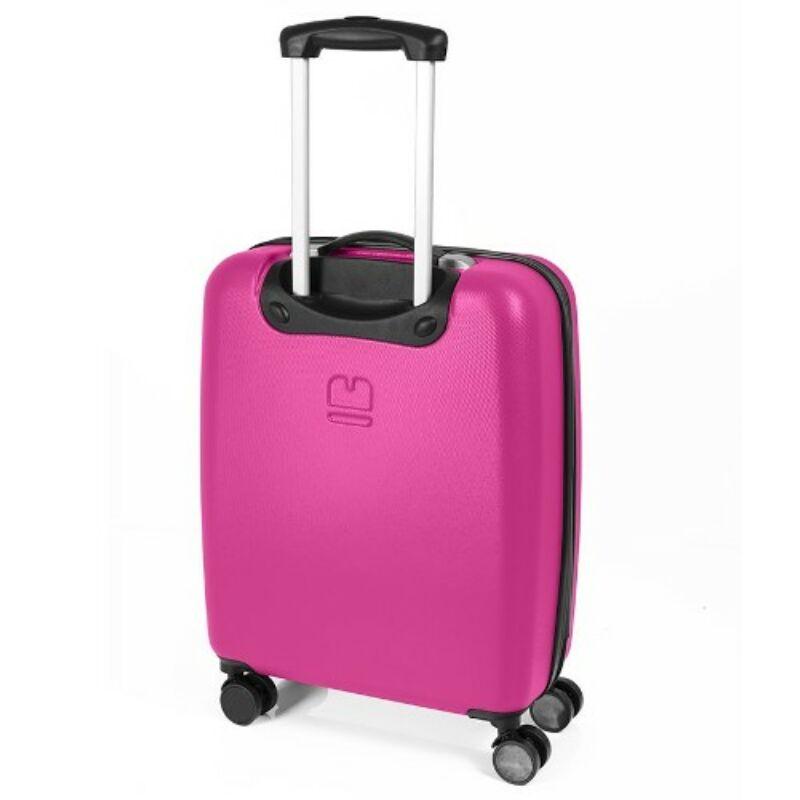 Gabol LINE 4-kerekes keményfedeles kabinbőrönd S, pink