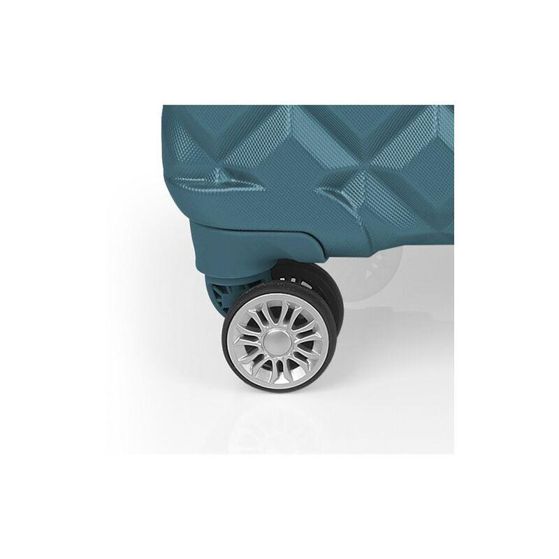 Gabol OPORTO 4-kerekes keményfedeles kabinbőrönd L, türkiz