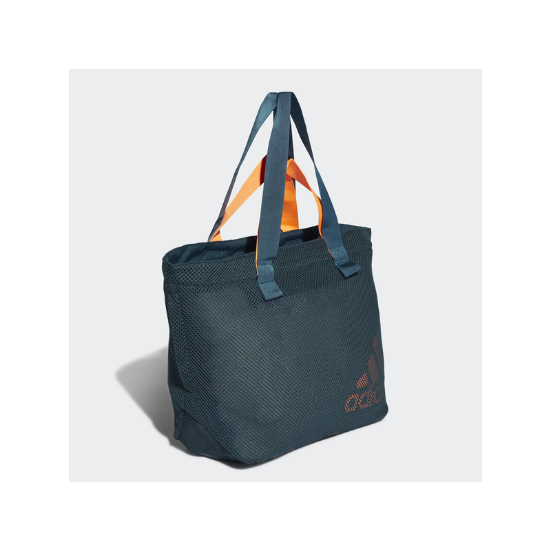 Adidas W ST TOTE MS női fitness táska, zöld-narancs