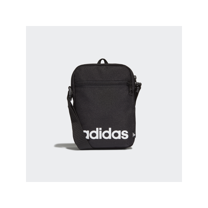 Adidas LINEAR ORG kis oldaltáska, fekete