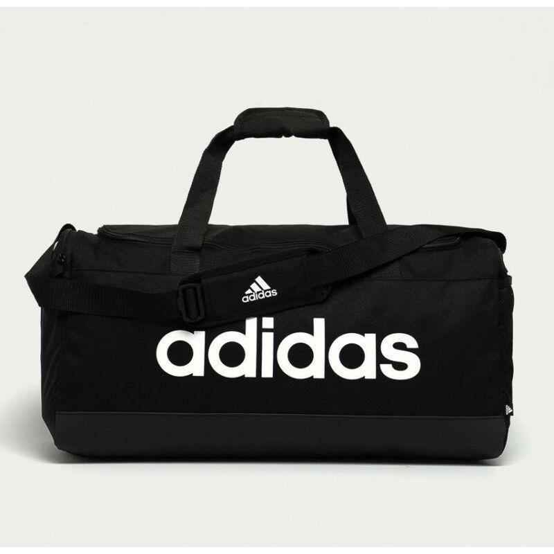 Adidas sporttáska LINEAR DUFFEL M, fekete