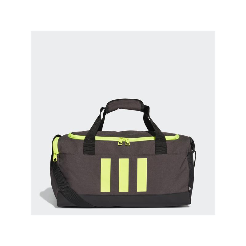 Adidas sporttáska 3S DUFFLE S, sötétszürke-UV sárga