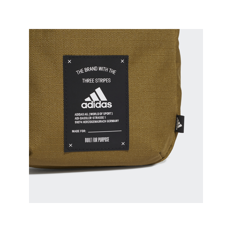 Adidas BB ORGANIZER kis oldaltáska, khaki
