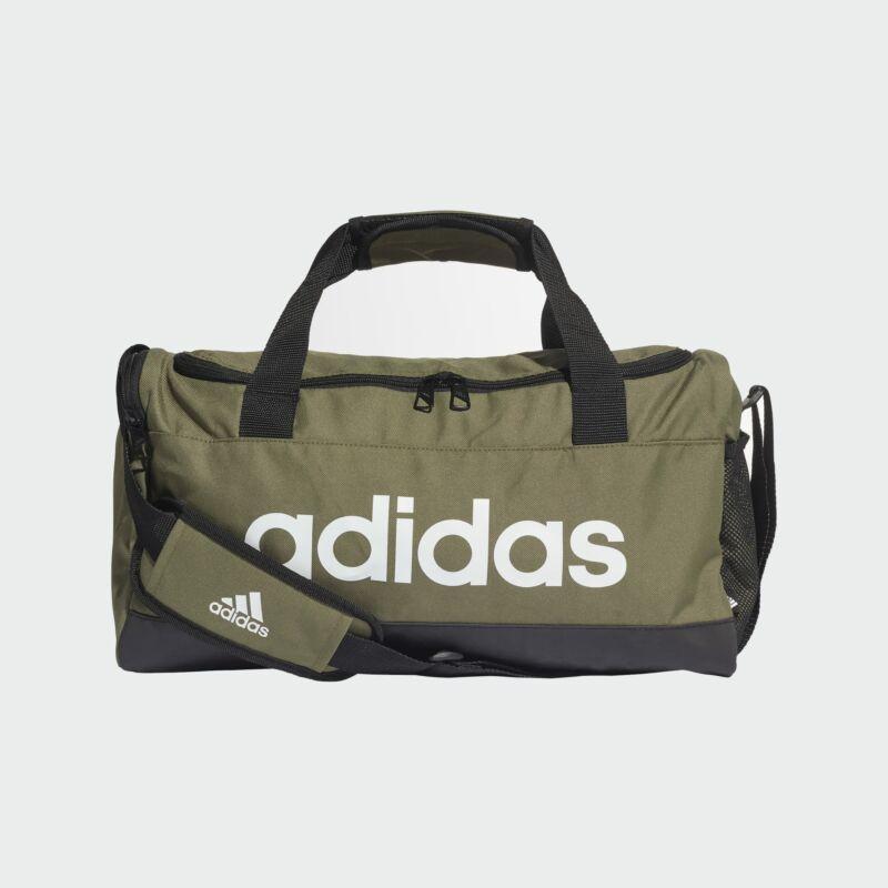 Adidas sporttáska LINEAR DUFFEL S, khaki