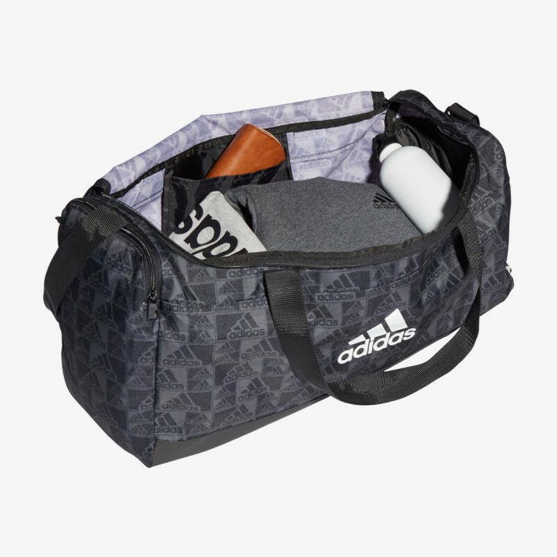 Adidas sporttáska GFX M DUF, fekete-szürke
