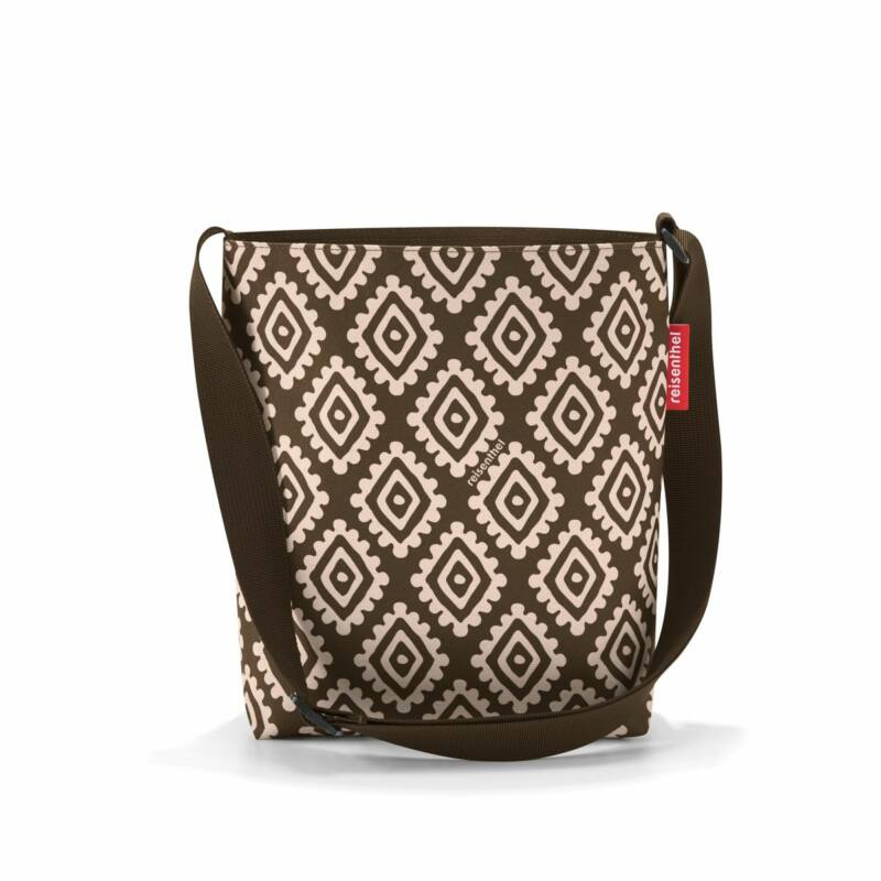 Reisenthel Shoulderbag S, diamonds mocha