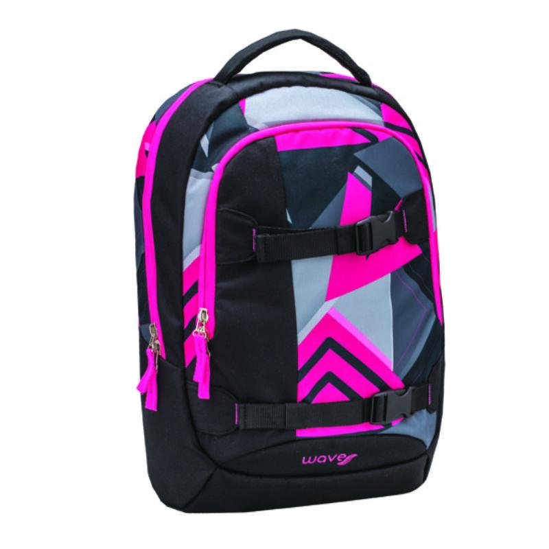 Wave Air Sport hátitáska, neon pink triangle
