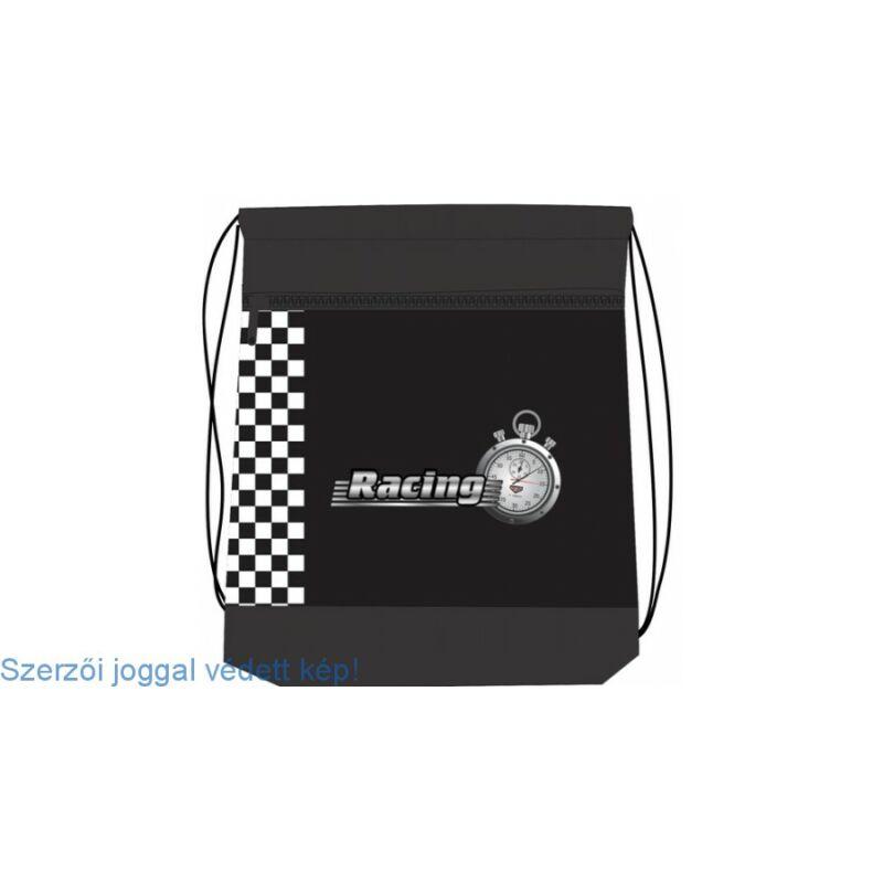 Belmil tornazsák hálós és zsebes, Race Car