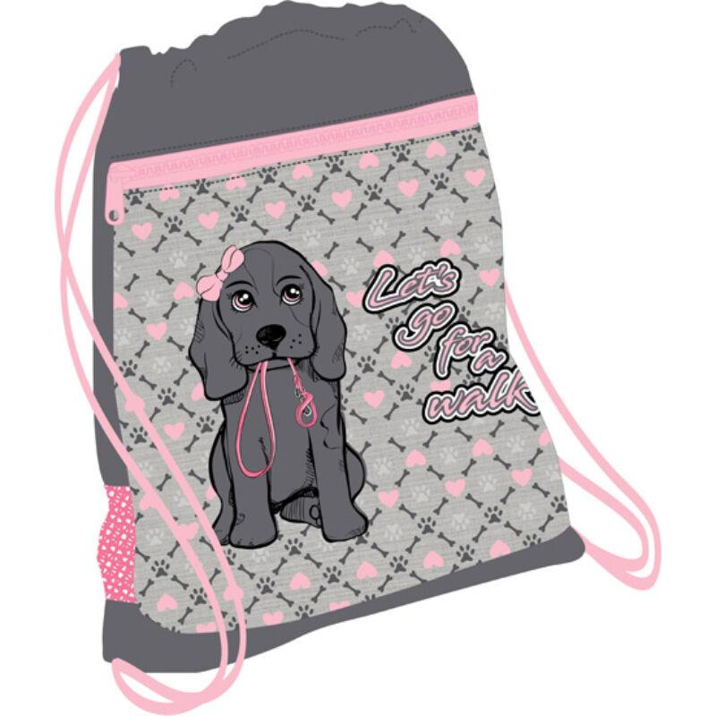 Belmil tornazsák hálós és zsebes, I Love Dog