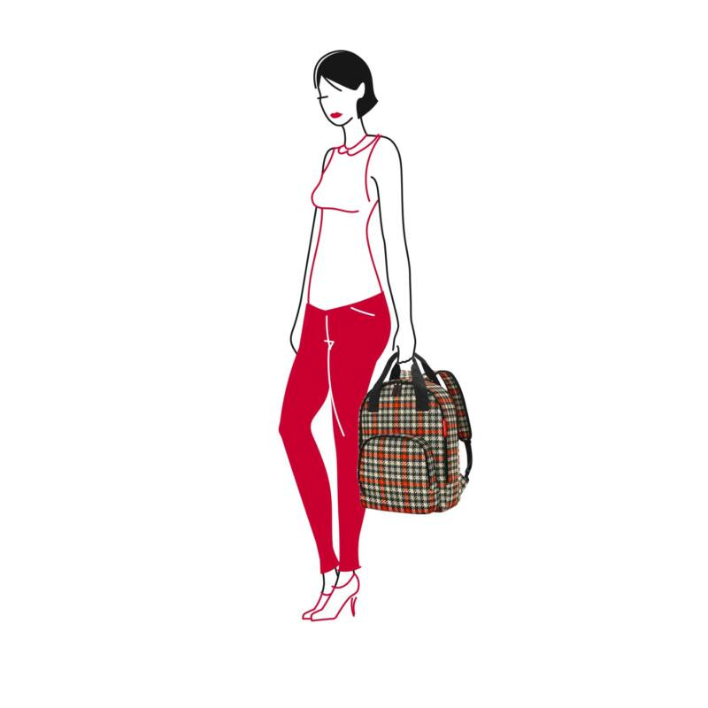 Reisenthel Easyfitbag, glencheck red