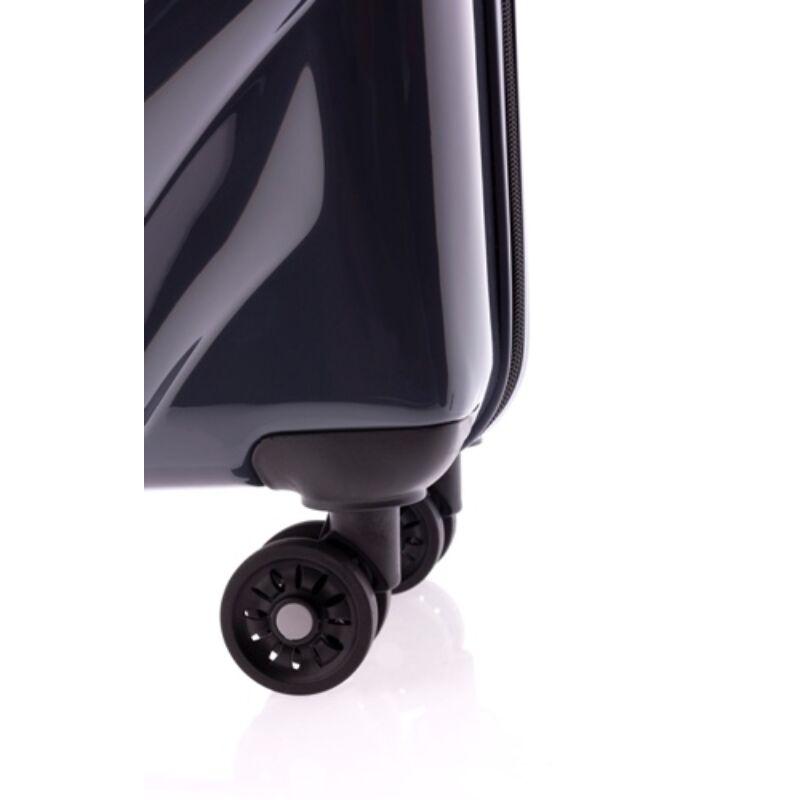 Gladiator SPACE 4-kerekes keményfedeles kabinbőrönd S, grafitszürke fényes