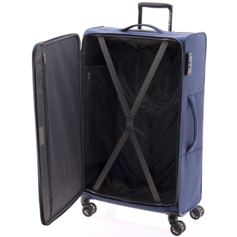 Gladiator WIND 4-kerekes bőrönd L, sötétkék