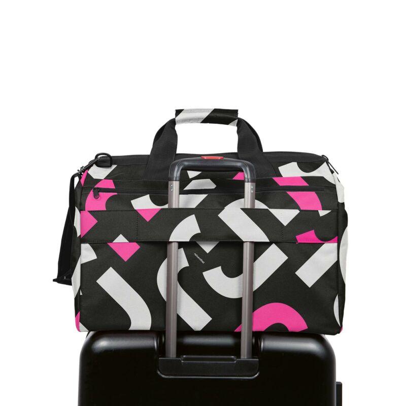 Reisenthel Allrounder L , POCKET signature bold pink
