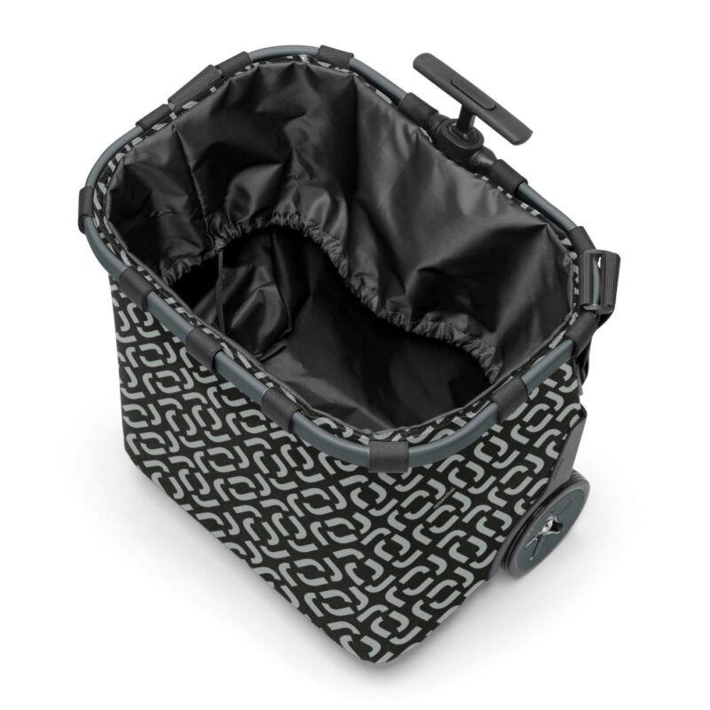 Reisenthel Carrycruiser bevásárlókocsi, signature black