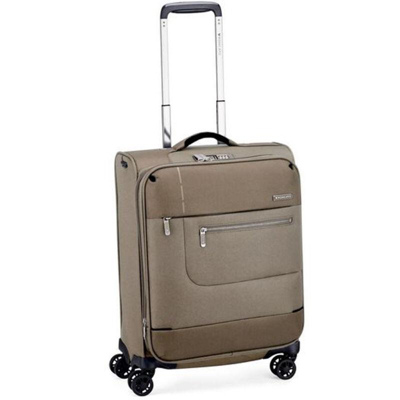 Roncato SIDETRACK 4-kerekes bővíthető kabinbőrönd, ecru