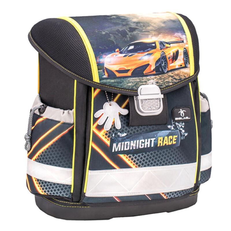 Belmil Classy merev falú iskolatáska, Midnight Race