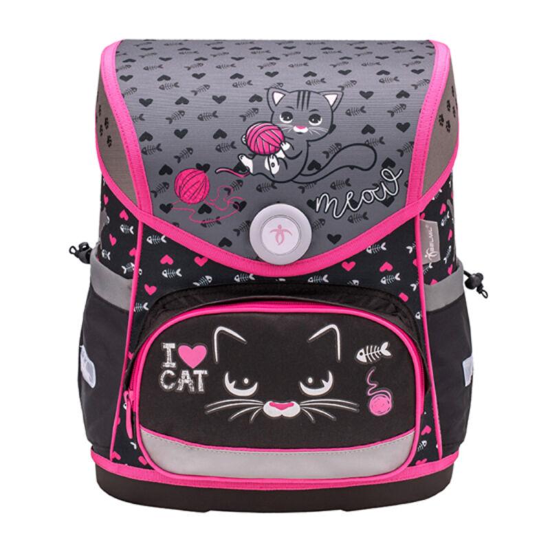 Belmil Compact merev falú iskolatáska, I Love Cat