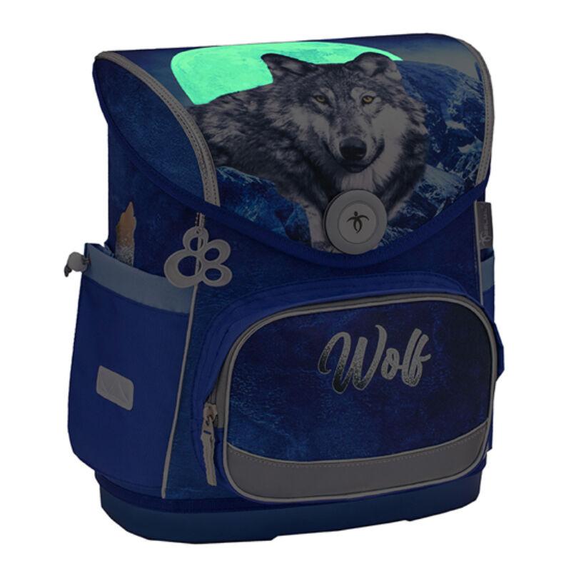 Belmil Compact merev falú iskolatáska, Wolf 2